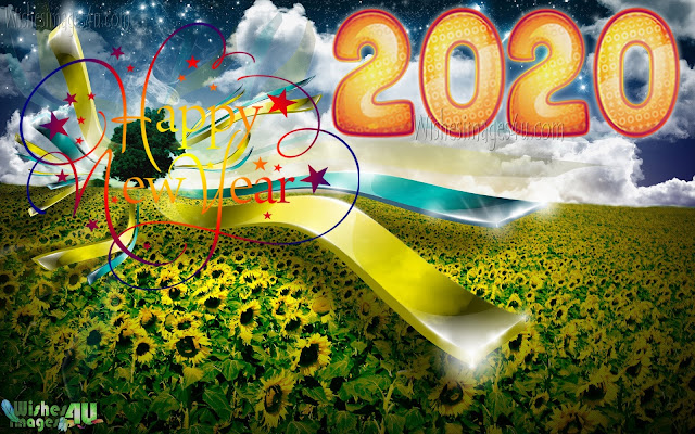 New year 2020 hd Nature Background images
