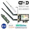 Ubit Driver AX200 WiFi 6 AX 2974Mbps Pcie WiFi Card
