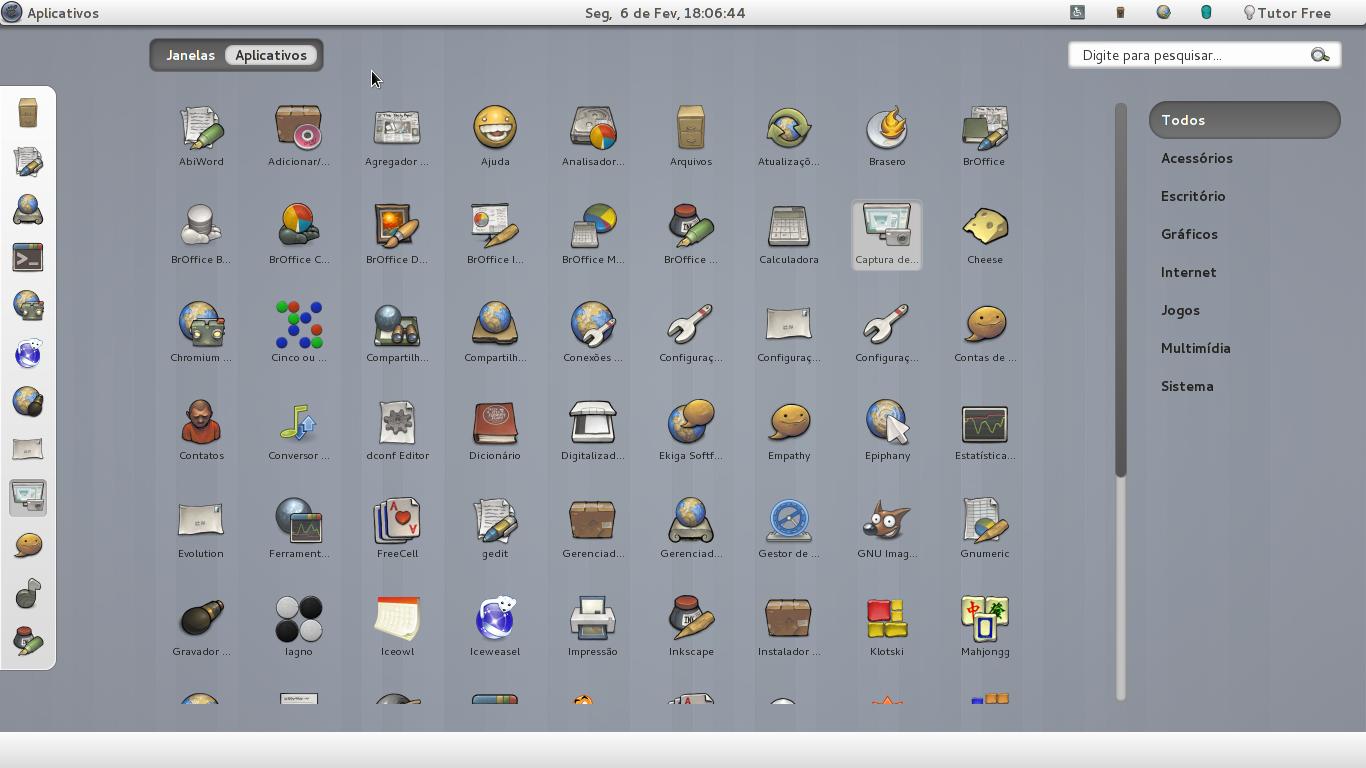 Gnome-Shell com ícones menores - Diolinux - O modo Linux e