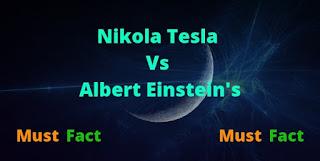 निकोला टेस्ला vs Albert Einstein