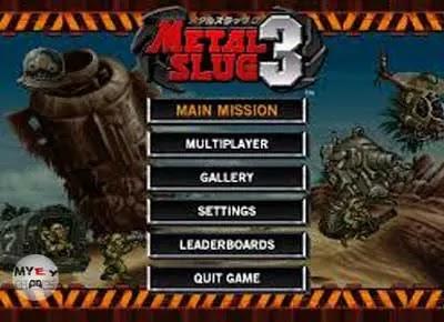 تحميل لعبة حرب الخليج metal slug 3 للكمبيوتر والموبايل مجانا برابط واحد