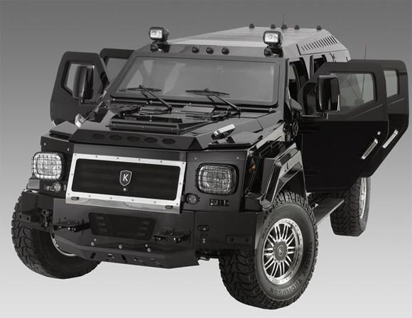 Luxury Armored Vehicles: Knight XV Suv