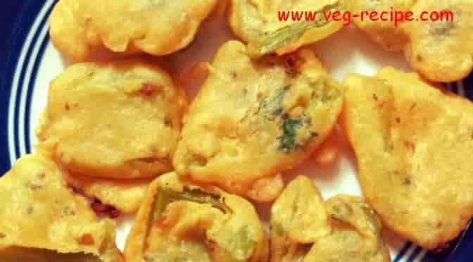 Capsicum Pakora | Shimla Mirch Ke Pakode | Capsicum Bhajiya | Bell Pepper Fritters