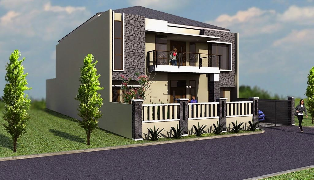 58+ Desain Halaman Rumah Nuansa Alam HD
