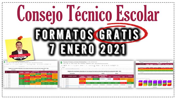 Materiales de apoyo para la Tercera Sesión de Consejo Técnico Escolar (7 de enero 2021)