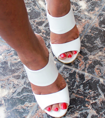 White Missguided Mules