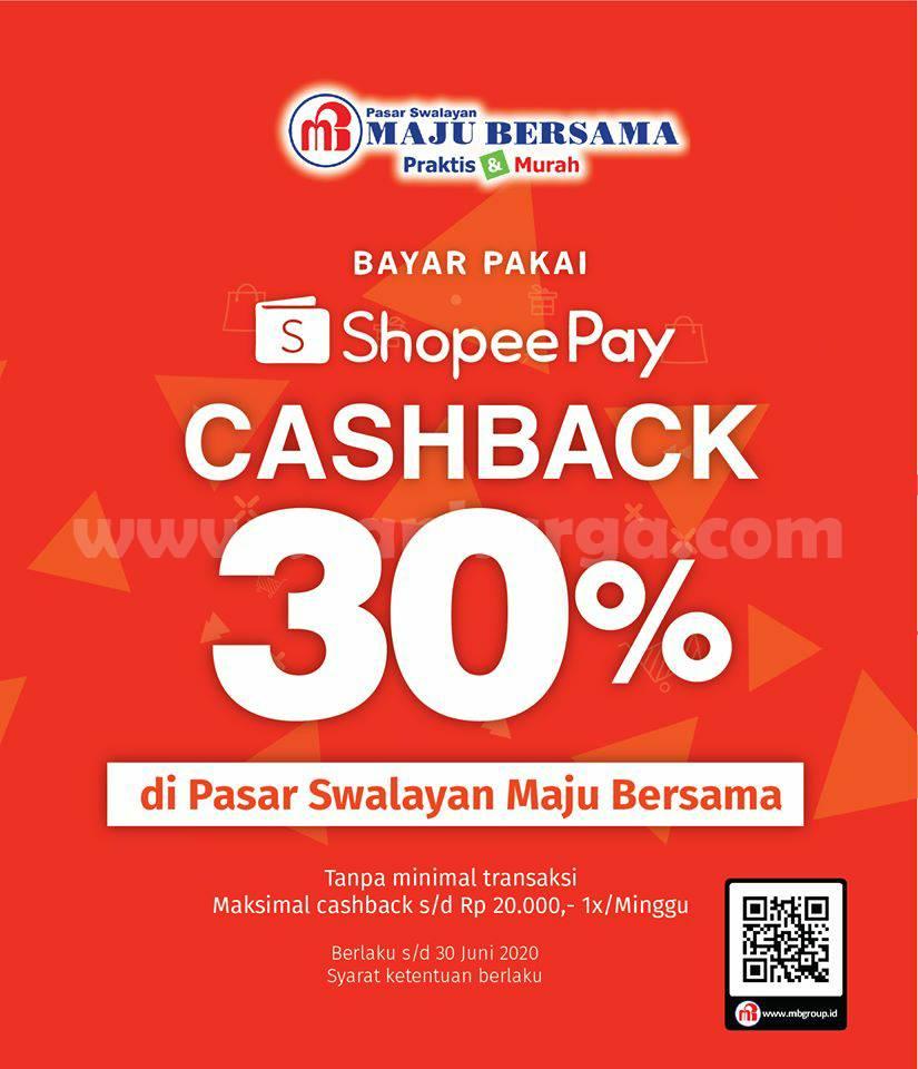 Promo Pasar Swalayan Maju Bersama Maximart Bayar Pakai SopheePay Cashback 30%