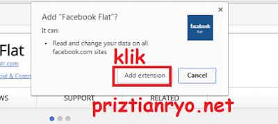 Cara Merubah Tampilan Facebook Menjadi Flat Terbaru