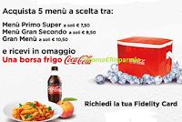 Logo ''Summer Camst'': Coca-Cola ti regala la sua Borsa frigo come premio certo!