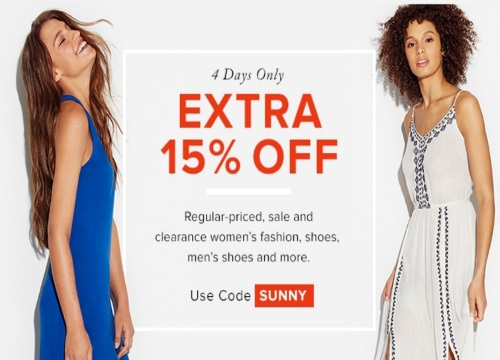 Hudson's Bay Extra 15% Off Women's Fashion, Shoes, Men's & Women's Shoes Promo Code