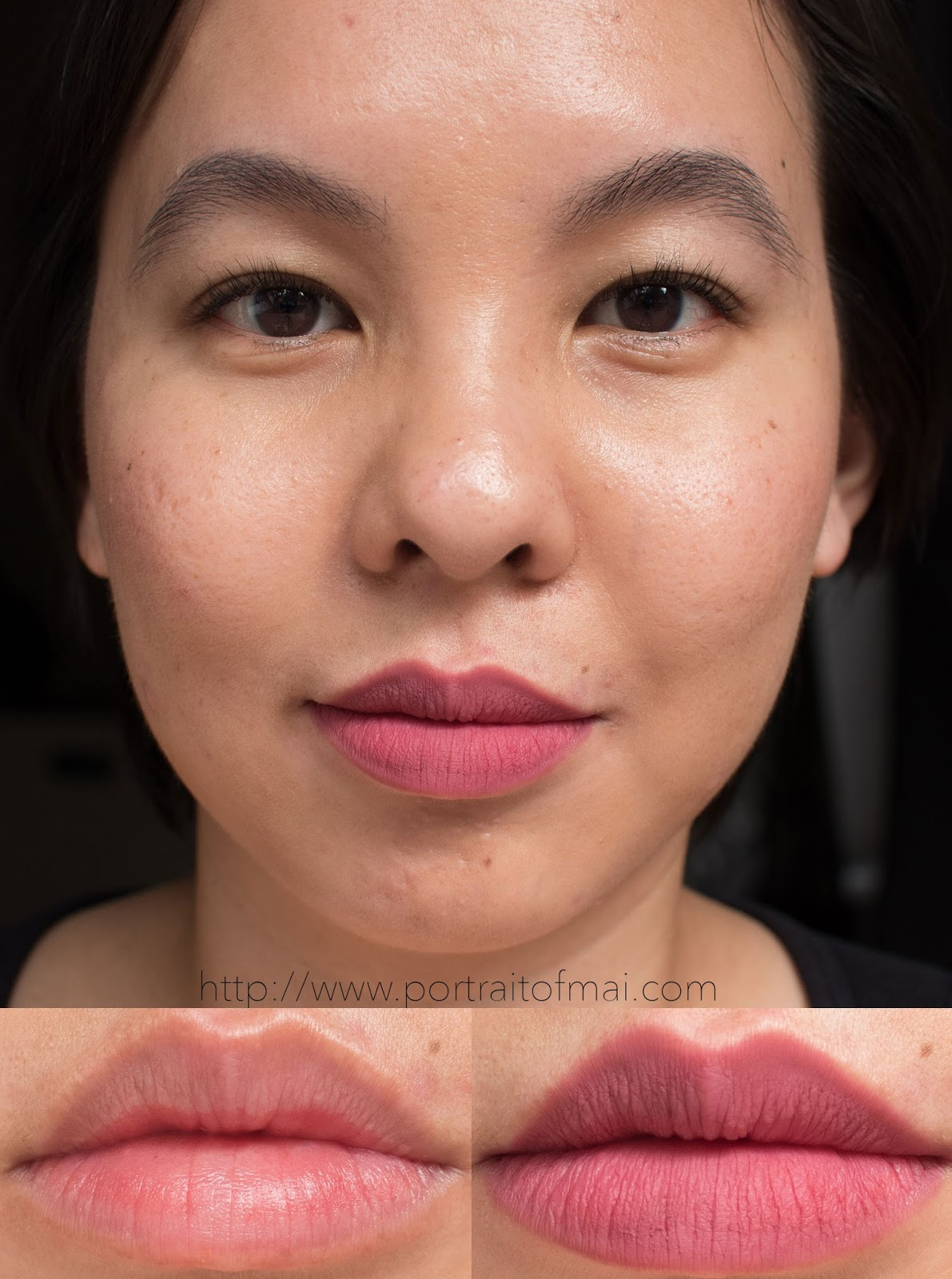 Makeup Geek Plush Matte in Marriage Material Swatch