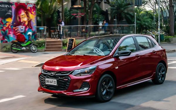 Novo Chevrolet Onix - carro mais vendido do Brasil em 2021
