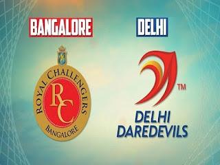 IPL 2017: MATCH 5 : RCB vs DD