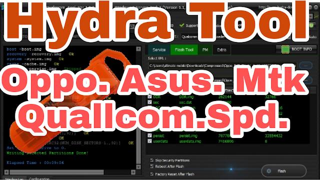 Hydra Tool Latest version MTK,SPD,OPPO,VIVO,ASUS Multi Android Tool