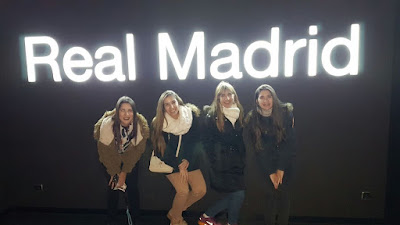 Foto Real Madrid en familia