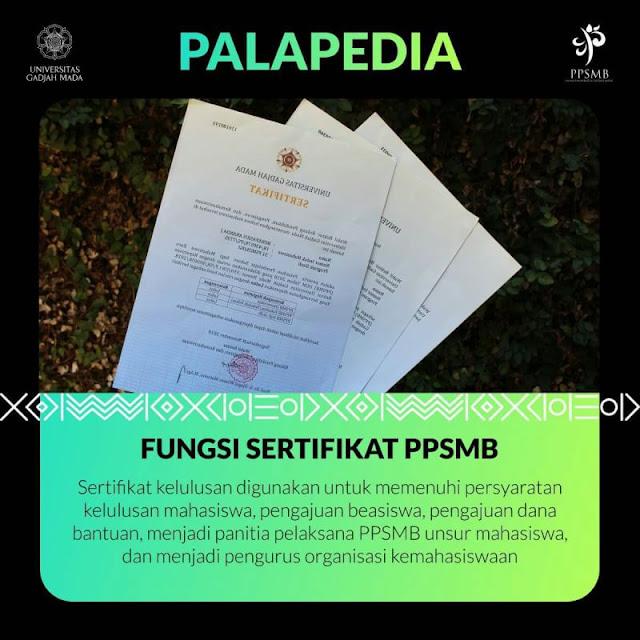 fungsi sertifikat kelulusan PPSMB