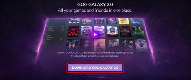تنزيل GOG Galaxy