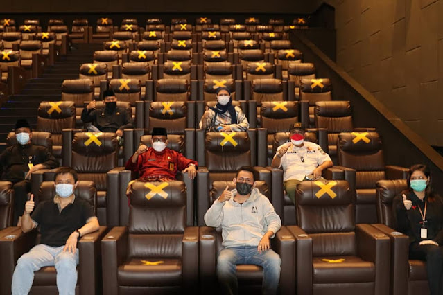 Bioskop CGV Grand Batam Mall Hari Ini Dibuka Untuk Pengunjung