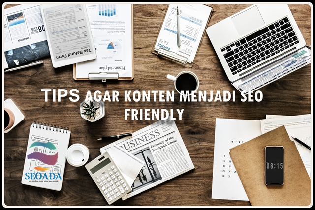 KONTEN SEO FRIENDLY