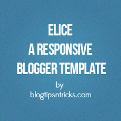 Elice a Free Responsive Blogger Theme