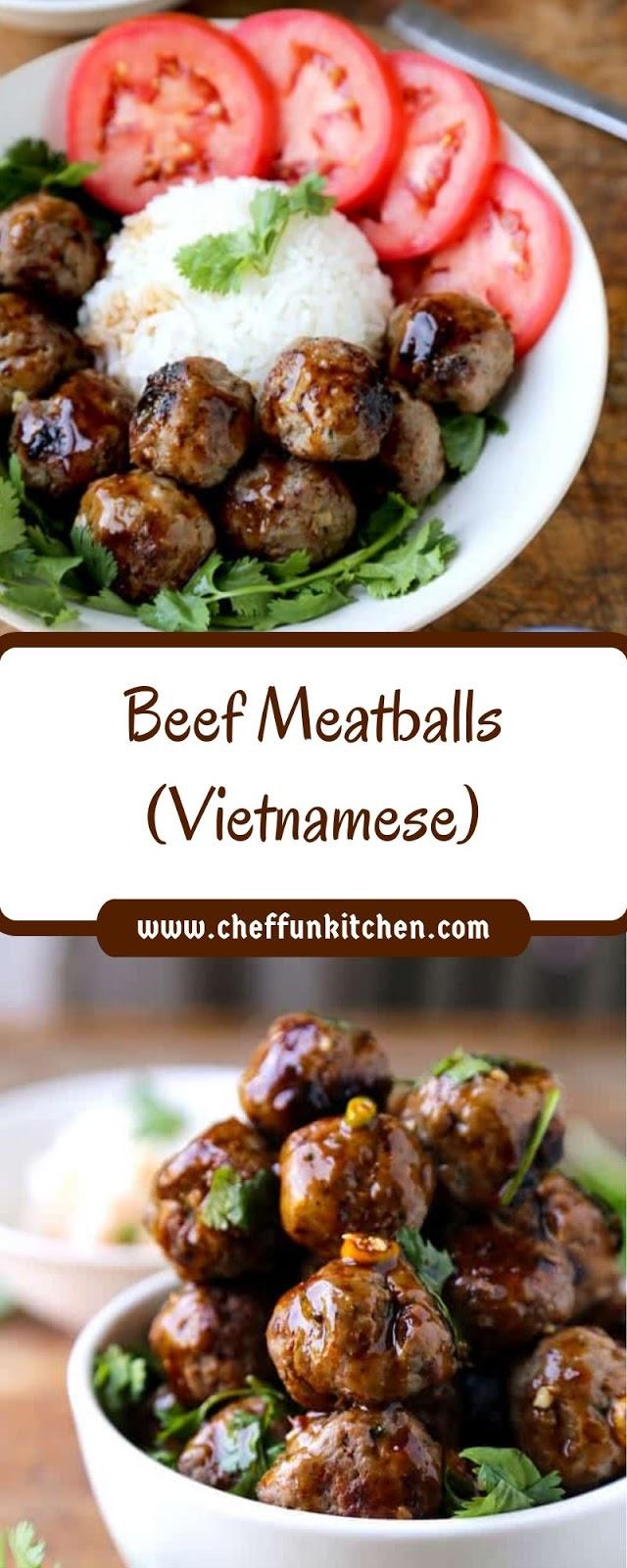 Beef Meatballs (Vietnamese)