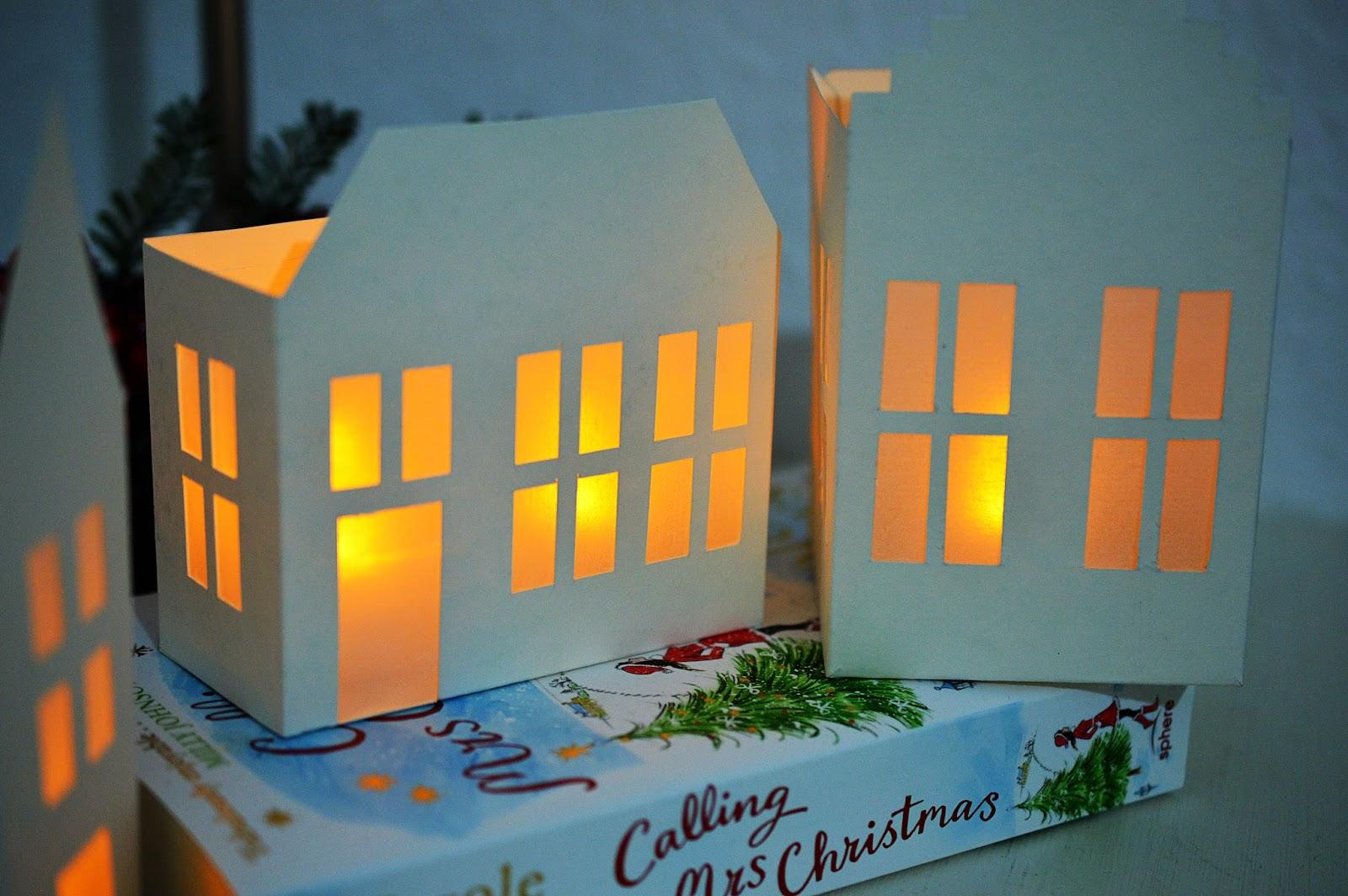 DIY Paper House Lanterns   Motte's Blog
