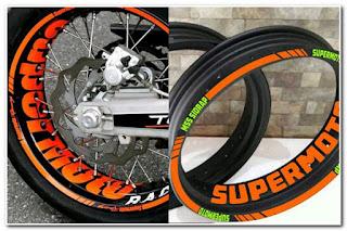 Stiker Velg Supermoto