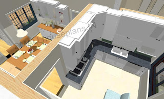 Single floor 3 bedroom small house plans