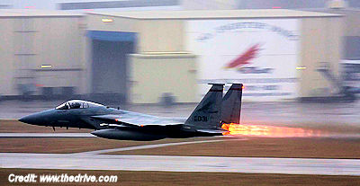 F-15's Scrambled Over Mystery Aircraft