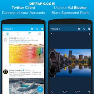 Friendly For Twitter Apk v3.2.3 [Premium] [Mod] [AOSP]