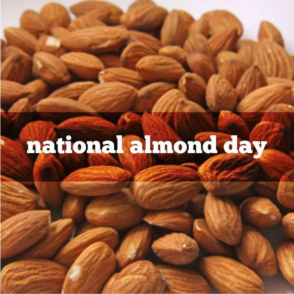 National Almond Day Wishes For Facebook
