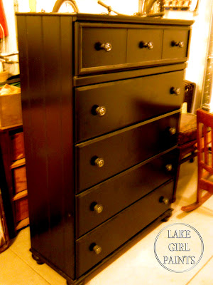 Lake Girl Paints Boys Blue Dresser Paint Diy