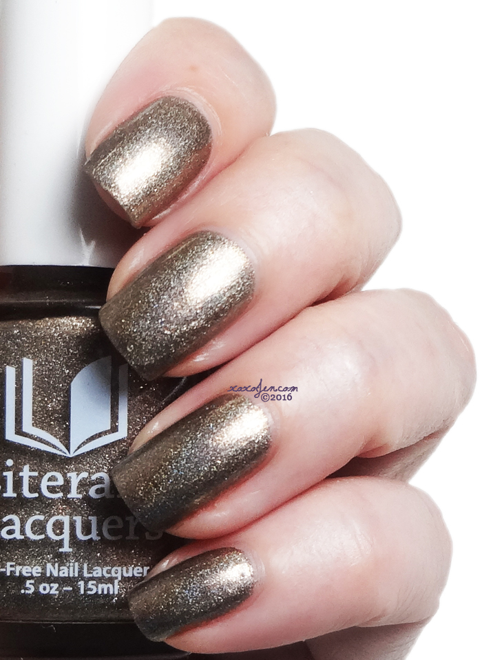 xoxoJen's swatch of Literary Lacquers Sweet Lenore