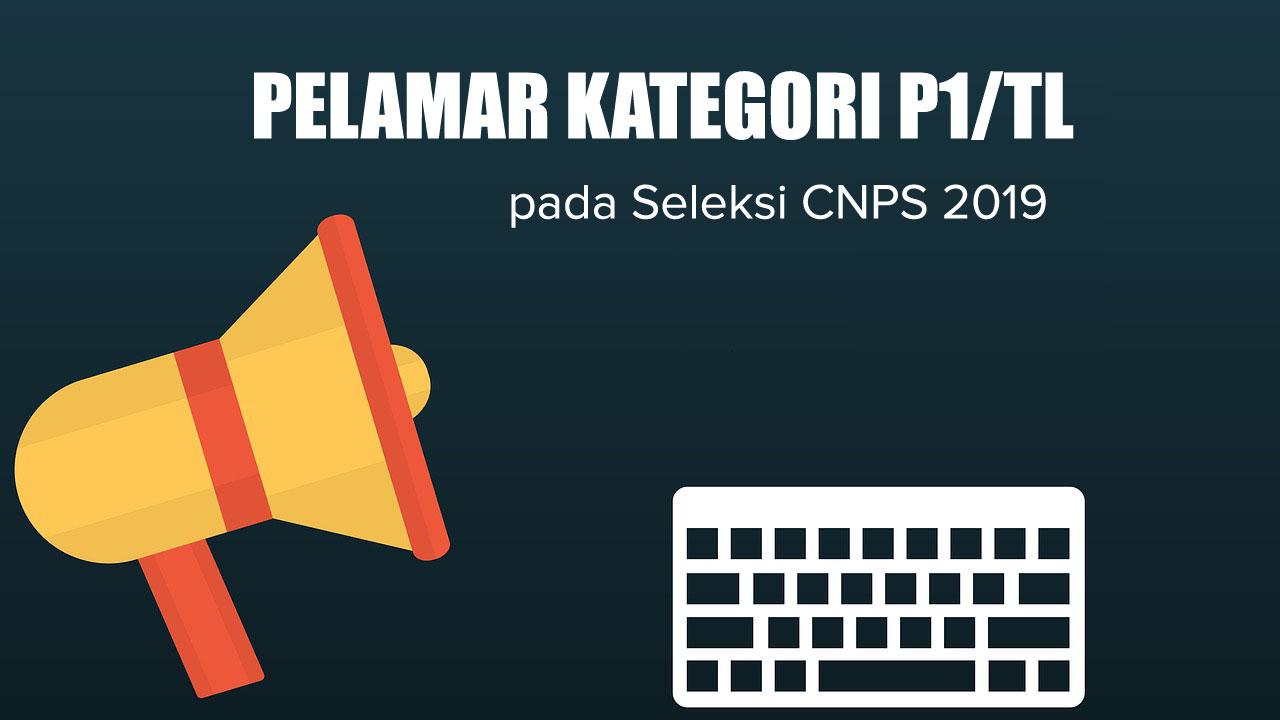 pelamar cpns P1/TL