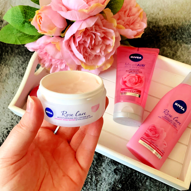Nivea, nivea rose care skincare, skincare blogger, beauty blogger, skincare, Wirral blogger, Liverpool blogger,