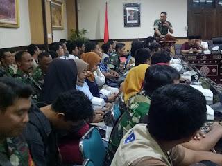 Danrem 162/WB Sebut Fasilitator Pahlawan Pembangunan Dalam Proses Rehab Rekon Gempa NTB