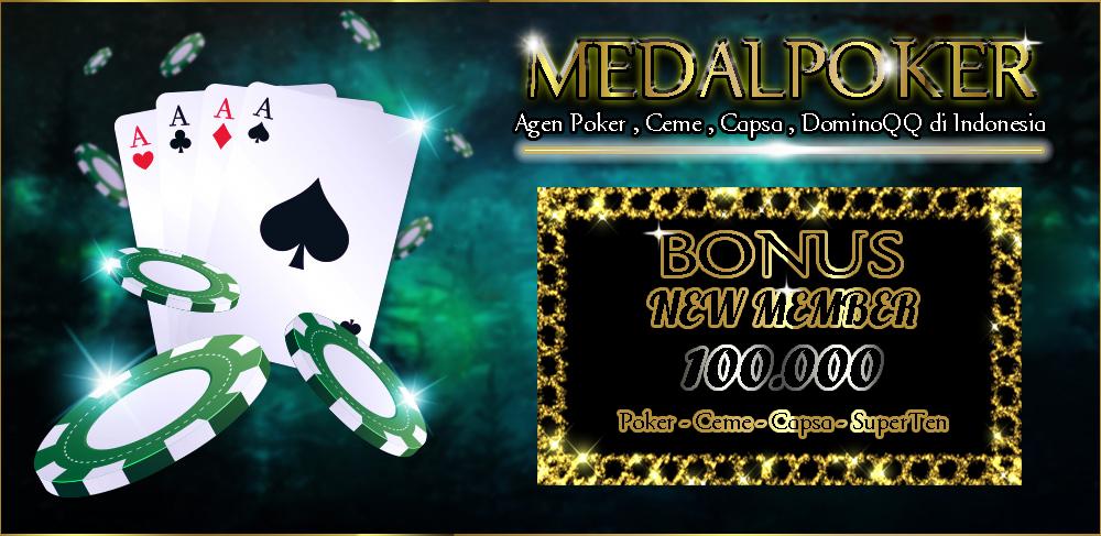 Poker Sejati Poker Online New Member 30