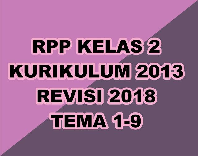 Gurune.net - RPP adalah kebutuhan wajib yang harus dimiliki oleh seorang guru. Kali ini gurune akan memberikan tautan download gratis RPP kelas 2 kurikulum 2013 yang telah direvisi tahun 2018. Silahkan sobat download dan tentunya di edit sesuai kebutuhan sobat, jika ada yang salah silahkan sobat perbaiki sendiri.    File besar silahkan sobat menuju ketempat yang mempunyai koneksi bagus.   File RPP kelas 2 terdiri dari 8 Tema yang gurune kumpulkan menjadi satu file download    Download RPP Kelas 2 K-13, Rev 2018 Lengkap -    Tema 1 Download  Tema 2 Download  Tema 3 Download  Tema 4 Download  Tema 5 Download  Tema 6 Download  Tema 7 Download  Tema 8 Download     Adapun Penjelasan Tentang Revisi RPP terbaru adalah sebagi berikut :    Rencana Pelaksanaan Pembelajaran (RPP) yang dibuat harus muncul empat macam hal yaitu PPK, Literasi, 4C, dan HOTS maka perlu kreatifitas guru dalam meramunya.  Perbaikan atau revisinya adalah :  Mengintergrasikan Penguatan Pendidikan Karakter (PPK) didalam pembelajaran. Karakter yang diperkuat terutama 5 karakter, yaitu: religius, nasionalis, mandiri, gotong royong, dan integritas. Mengintegrasikan literasi; Mengintegrasikan keterampilan abad 21 atau diistilahkan dengan 4C (Creative, Critical thinking, Communicative, dan Collaborative); Mengintegrasikan HOTS (Higher Order Thinking Skill   Gerakan PPK perlu mengintegrasikan, memperdalam, memperluas, dan sekaligus menyelaraskan berbagai program dan kegiatan pendidikan karakter yang sudah dilaksanakan sampai sekarang.  Pengintegrasian dapat berupa :  a. pemaduan kegiatan kelas, luar kelas di sekolah, dan luar sekolah (masyarakat/komunitas); b. pemaduan kegiatan intrakurikuler, kokurikuler, dan ekstrakurikuler; c.  pelibatan secara serempak warga sekolah, keluarga, dan masyarakat;   Perdalaman dan perluasan dapat berupa:  a) penambahan dan pengintensifan kegiatan-kegiatan yang berorientasi pada pengembangan karakter siswa, b) penambahan dan penajaman kegiatan belajar siswa, dan pengaturan ulan