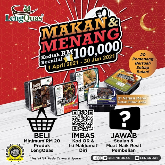 LengQuas Makan & Menang Contest, Kopetro, LengQuas Ready To Eat Food, LengQuas Food, Food