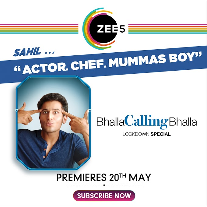 Zee5's 'Bhalla Calling Bhalla' is a show made during the Lockdown!
