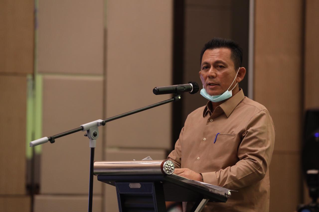 Gubernur Kepri Menghadiri Sosialisasi PP Nomor 41 Tahun 2021 Yang Digelar Kemenko Perekonomian RI