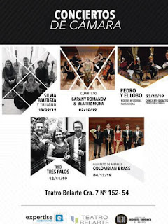 CICLO de conciertos de cámara 2019 en Teatro Belarte