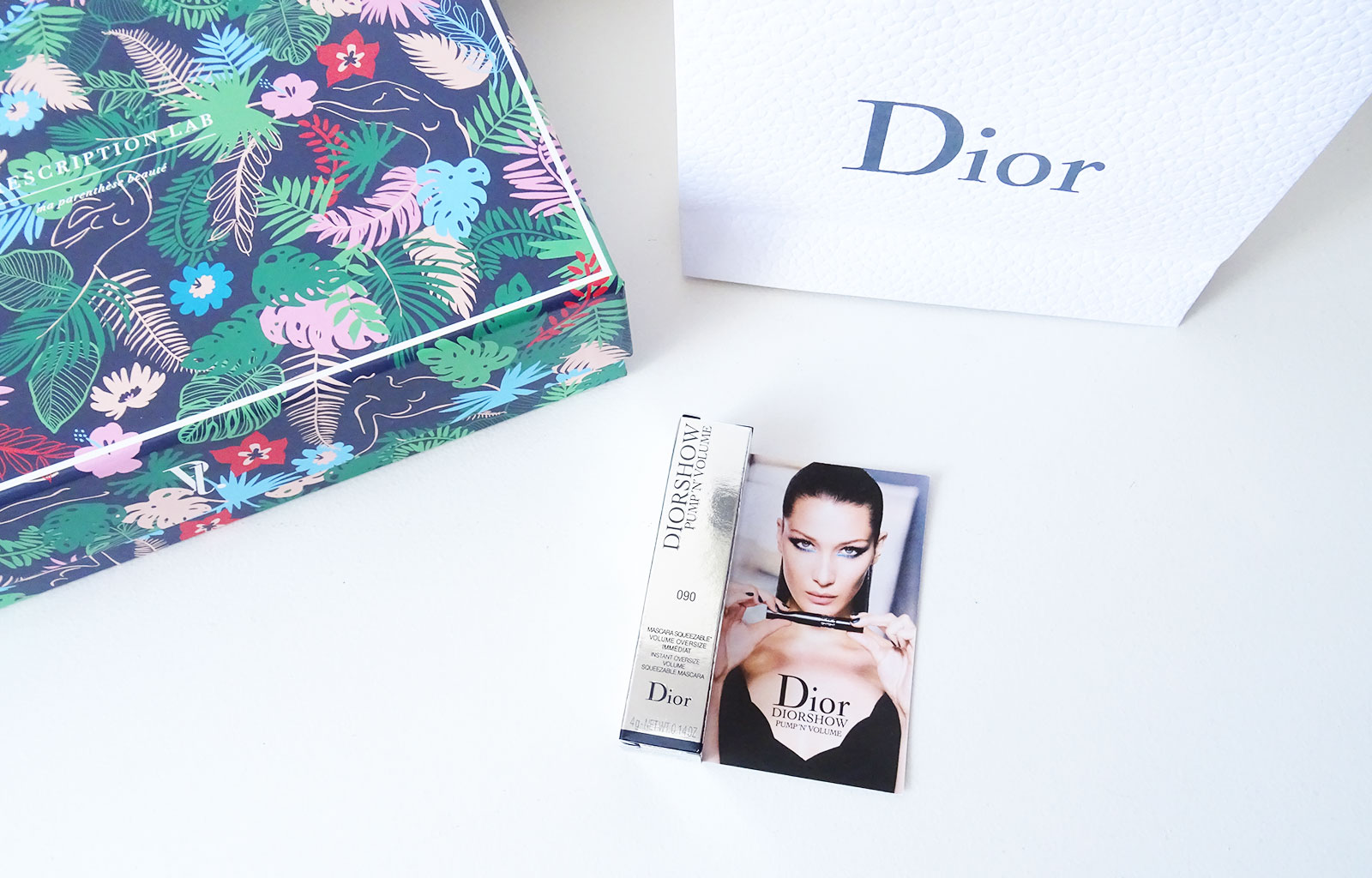 Prescription Lab Mai 2018 Time to Escape Dior, Mascara Pump'N'Volume