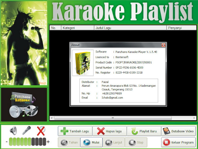 Screenshot Panzhano Karaoke Player 9.0.33 Full Version