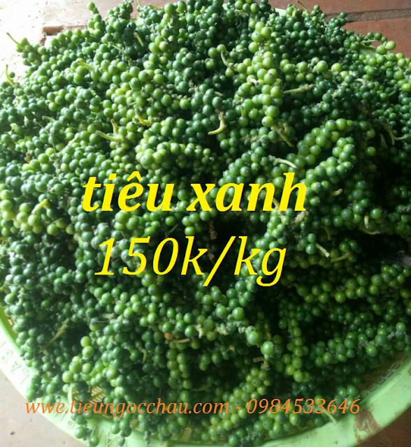Tiêu xanh - 150k/kg