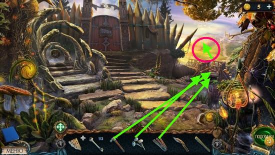 ремонт моста досками и гвоздями в игре затерянные земли 3