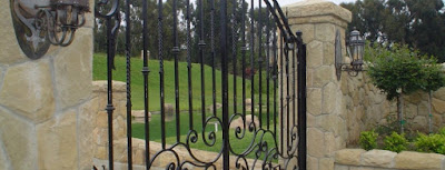 driveway gates of los angeles california