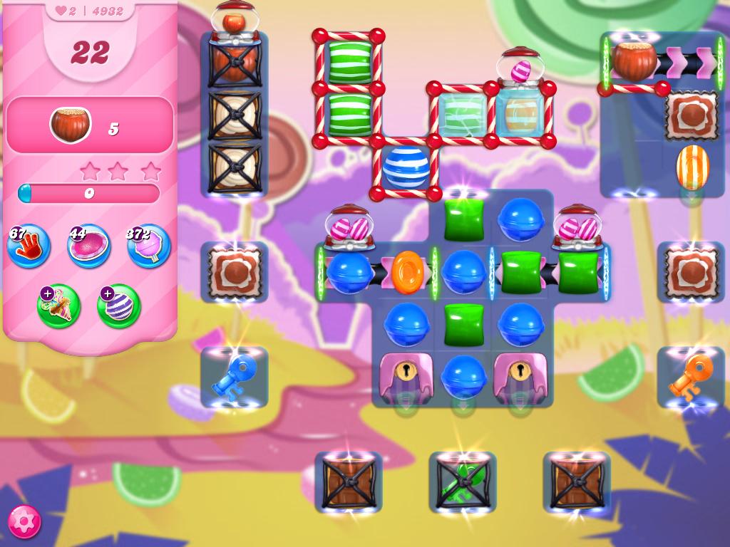 Candy Crush Saga level 4932