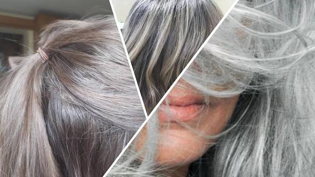 Cómo disimular las canas en el cabello