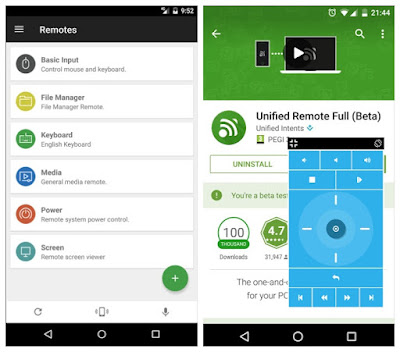 unified remote full version apk